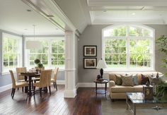 Great Room - traditional - family room - san francisco - by Arch Studio, Inc. - Ozark Shadows