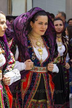 Sardinian typical dress