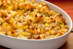 """Authentic Hawaiian Pineapple Stuffing"" recipe is especially liked for the Thanksgiving holiday."