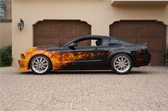 2007 FORD MUSTANG GT TASCA CUSTOM - Side Profile - 185516