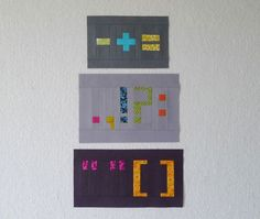 """Refrigerator Magnets"" pattern: numbers & punctuation by Oh, Fransson!/Elizabeth Hartman"