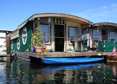 I think I would like to live on a houseboat for a season.
