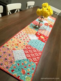 Ardently Austen - Layers of Charm Table Runner by #SameliasMum