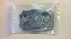 125 Years NRA National Rifle Association of America Belt Buckle 1871-1996 TU1 #Unbranded #Novelty