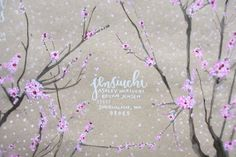 Cherry Blossom envelope by Tara Bliven - instructions included!