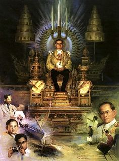 Long Live Our Beloved King,King Bhumipol of Thailand King Bhumipol, King Rama 9, King Of Kings, King Queen, Thailand History, King Thailand, King Painting, Royal King, Queen Sirikit