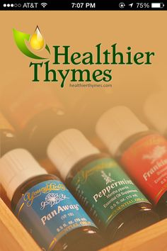 Essential Apps for Essential Oils - Healthier Thymes http://eoliving.wordpress.com/2014/04/29/essential-apps-for-essential-oils-healthier-thymes/