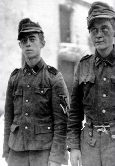 SS boys who fought during the Battle of Berlin.