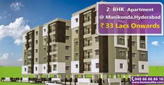 Residential Project at #Manikonda, offering #2BHK and #3BHK apartments for sale with all the amenities. Size Range: 1100 – 1920 Sq.ft Price Range: 33 Lacs onwards For more details click on http://www.homesulike.com/index.php/projects/viewdetails/Primarks-High-View Call us 040-66666616 for site visit.