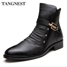 Shoes Basic Boots Search For Flights Pjcmg New Mens High Boots Genuine Leather High-leg Martin Male Shoes Zipper Design Tactical Boots Delta Men Black Boots
