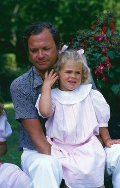 król Szwecji Karol XVI Gustaw i księżniczka Gästrikland i Hälsingland Magdalena