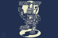 Tee Time - Daily T-Shirt Special - Robo HopT-Shirt  | Tee Time February 17, 2014 | 6DollarShirts $6