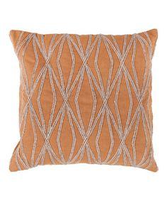 Look at this #zulilyfind! Sandshell Throw Pillow #zulilyfinds