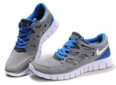 http://www.mujerzapatillas.com/hombre-nike-free-run-2-zapatillas-de-deporte-azules-grises