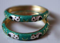 Panda bracelets