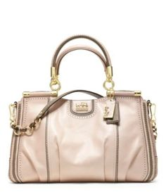 d1160a7204a Coach Madison Pinnacle Zig-Zag Perforated Carrie Handbag   If I can only  buy one