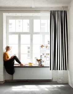 Vorhänge Berlin fensterdekoration dänisches design vorhänge gardinen und