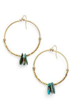 Vanessa Mooney 'Bonita' Hoop Earrings