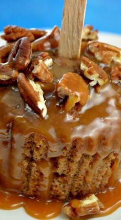 Caramel Apple Cupcakes & Cookbook Giveaway