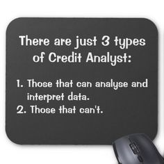 Cruel Funny Credit Analyst Famous Quote Joke Gift Mouse Pad - funny quotes fun personalize unique quote