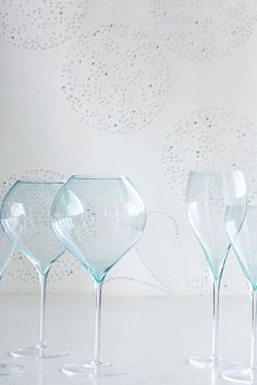 Wine Glass / Anthropologie