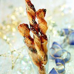 Sacristains au sésame et pavot - http://www.cuisineetvinsdefrance.com/,sacristains-au-sesame-et-pavot,30516.asp