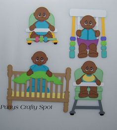 TOCG Baby Pals Girls Paper Piecing by Pattys Crafty Spot ~ Patty