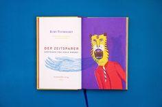 Franziska Walther: Tucholsky - Der Zeitsparer - Thisispaper Magazine