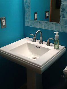 love this color for the half bath
