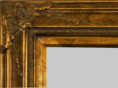 "Beautiful Picture Frame! Perfect For Artwork, Photographs, Canvas Paintings, Oil Paintings, Watercolor Paintings, Acrylic Paintings, Portraits, Wedding Pictures, Diplomas, Family Photographs & More. Ornate Wooden Gold 4"" Wide Picture Frame"