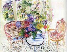 Flores y Palabras: Raoul Dufy: La pérgola