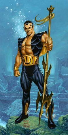Sub-Mariner - Marvel Marvel Comic Character, Marvel Comic Books, Comic Book Characters, Marvel Characters, Comic Books Art, Comic Art, Book Art, Marvel Dc Comics, Dc Comics Art