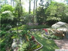 Greenhouse and garden love.
