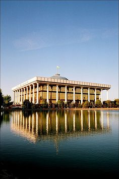 Uzbekistan. Tashkent - Oliy Majlis (Parliament).