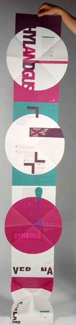 D Pentagram Brief - Typographic Circle by Daniella Carson, via Behance