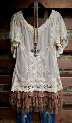 a826d3d37b Ever so sweet and charming embroidered lace sheer top in taupe