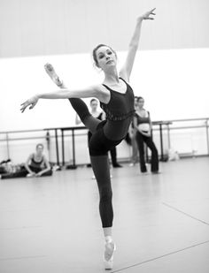 Ballet....so beautiful. I don't know why, but pictures in practice clothes in the studio are just so inspiring to me.