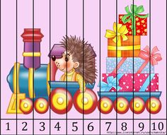 8 (700x569, 295Kb) Math For Kids, Games For Kids, Motor Activities, Activities For Kids, Number Puzzles, Fine Motor Skills, 9 And 10, Bowser, Diy And Crafts