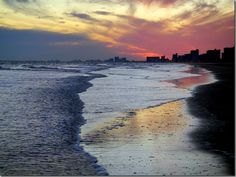 Sunset ~ Myrtle Beach, SC