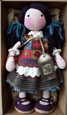 Mesmerizing Crochet an Amigurumi Rabbit Ideas. Lovely Crochet an Amigurumi Rabbit Ideas. Crochet Dolls Free Patterns, Crochet Doll Pattern, Crochet Chart, Doll Patterns, Hand Crochet, Knit Crochet, Crochet Animals, Crochet Toys, Tsumtsum