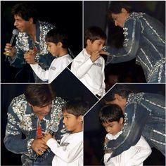 SRK and Aryan.