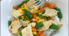 Citrus Chicken Stir-Fry    Bento lunches and other cute food for kids