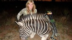 Where is the Pride in Hunting Animals Rebecca Francis ? Rebecca also claims that she is helping conservation.