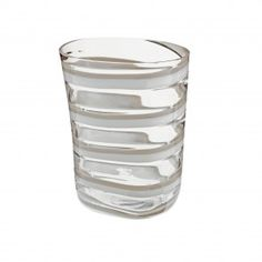 """Carlo Moretti - Wasserglas """"Bora"""" - Modell 15.997.6 - Murano Glas"""