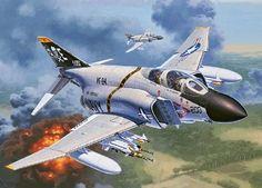 F-4J Phantom II USN Fighter 1/72 Revell Germany