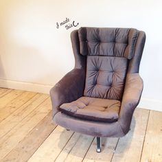 Parker Knoll Swivel Chair #upholstery