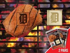 FanMats MLB - Detroit Tigers Grilling Fanbrand 2 Pack