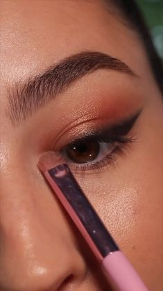 Edgy Makeup, Makeup Eye Looks, Eye Makeup Steps, Eye Makeup Art, Cute Makeup, Skin Makeup, Eyeshadow Makeup, Contouring Makeup, Makeup Tutorial Eyeliner
