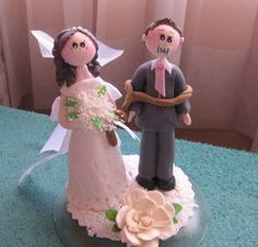 Funny wedding cake topper by CuteToppers, $60.00