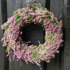 Wreath of heather